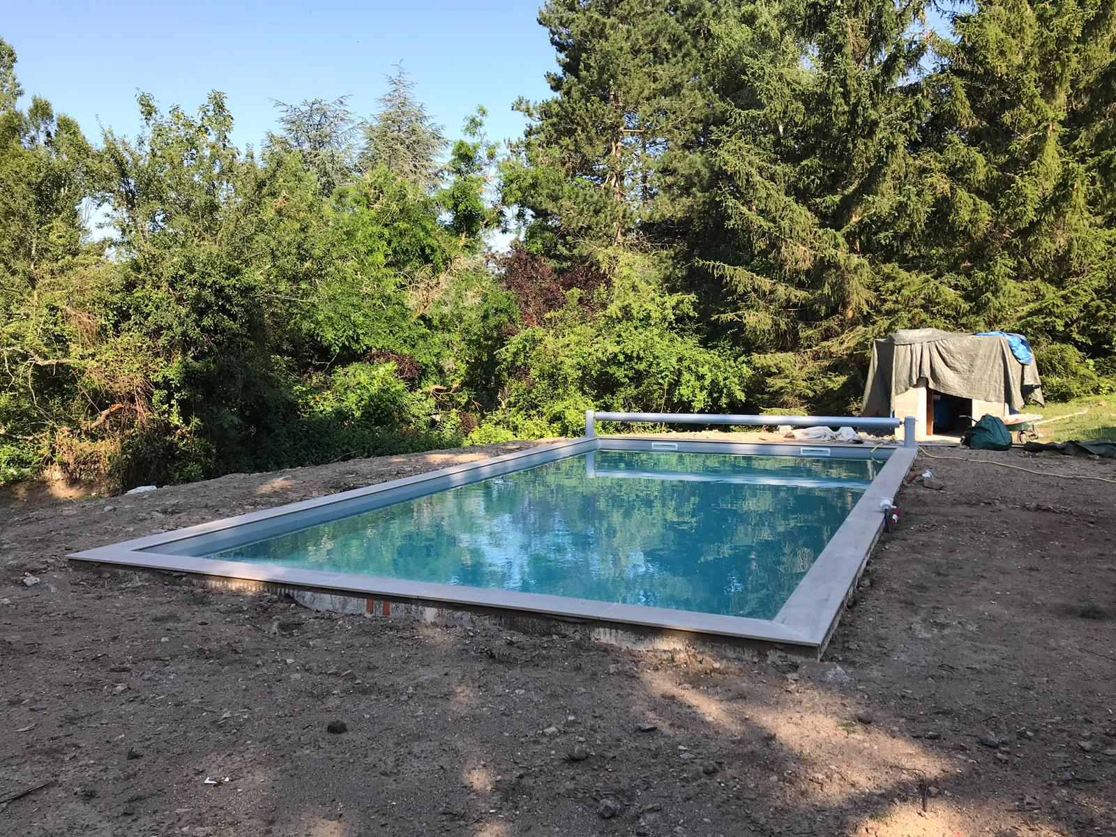 Construction de piscine La Talaudière